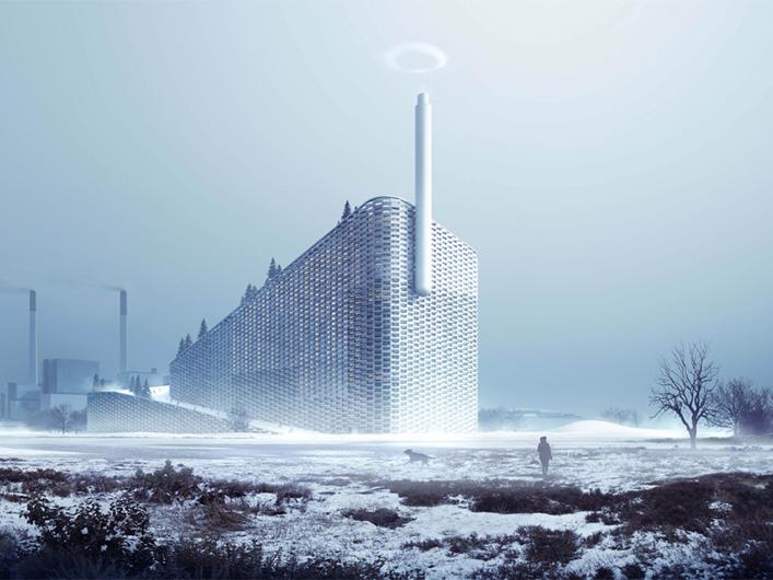 AMAGER BAKKE / COPPENHILL, COPENAGHEN </br>Bjarke Ingels Group